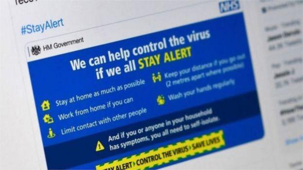 """英国政府发出""""保持警惕""""讯息。"""