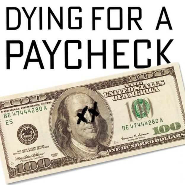 "Cover of ""Dying for a Paycheck"""