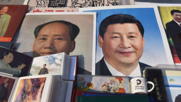 Mao and Xi