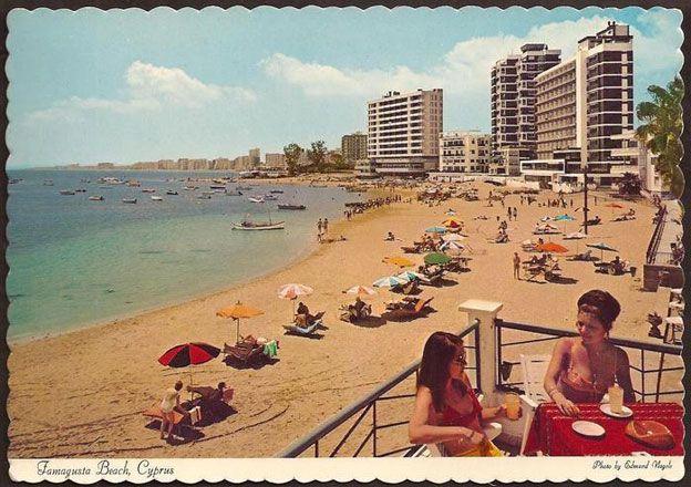 Postcard of Varosha in its heyday