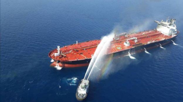 Cáo buộc này được đưa ra sau khi tàu chở dầu bốc cháy hôm 13/6 trên Vịnh Oman