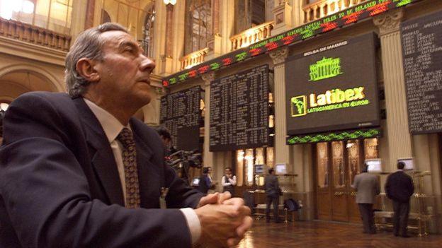1997 yılında Latin Amerika bonolarının euro cinsinden ihraç edilmeye başlandığı gün Madridli bir trader