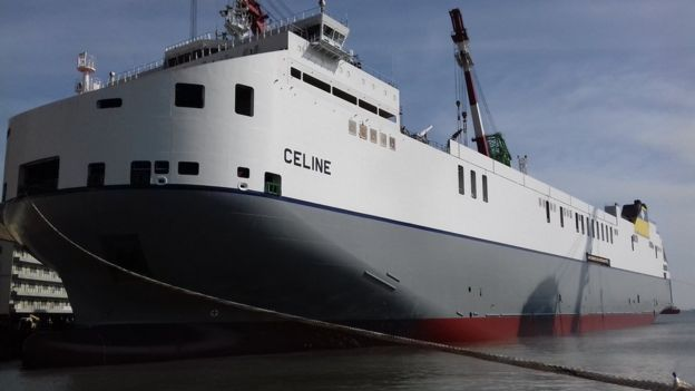 The MV Celine