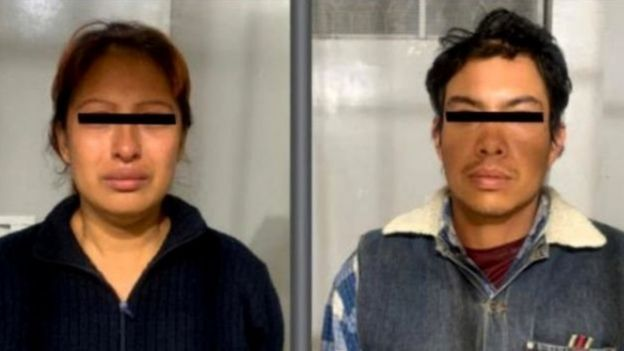 Kedua tersangka penculik dan pembunuh Fatima Cecilia