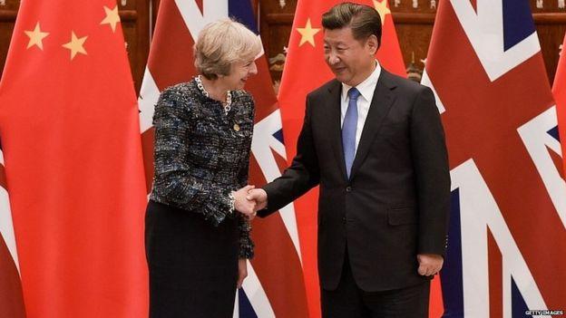 """有分析認為,種種跡象表明,中國已經把英國看作""""懇求者"""",雙方""""不平等""""。"""