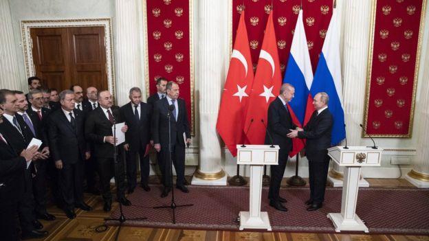 Kremlin'deki görüşme