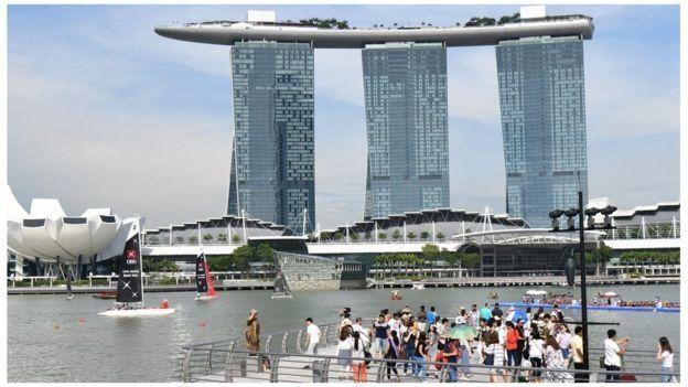 Pemerintah Singapura memperketat keamanan di sejumlah tempat wisata jelang dan saat Trump-Kim bertemu di Sentosa.