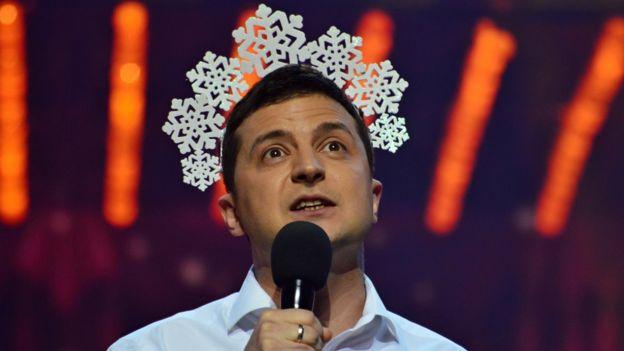"""Зеленский стал для уставших от политиков украинцев """"новым лидером"""""""