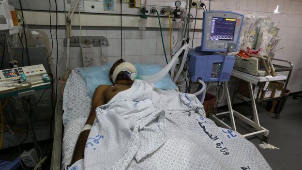 مستشفى في غزة