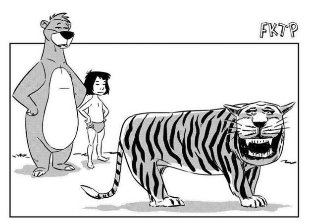 80+ Gambar Animasi Harimau Lucu Paling Bagus