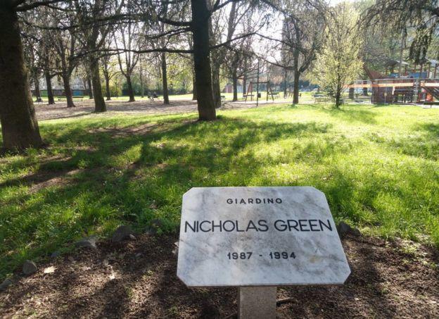 Nicholas Green garden in Torino