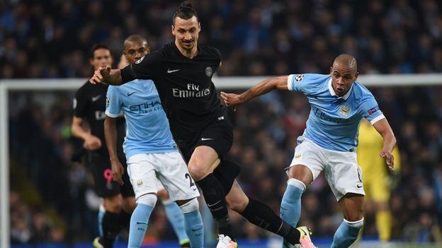 El PSG y el Manchester City