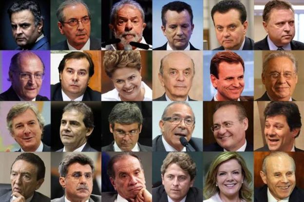 Políticos e autoridades com inquéritos abertos por Fachin por causa de 'delação do fim do mundo'
