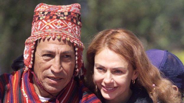 Alejandro Toledo y Eliane Karp