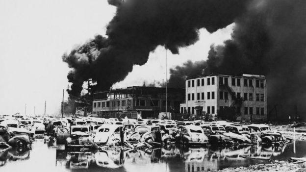 Взрыв в Тексас-Сити