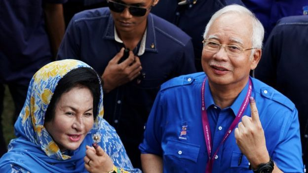 Malaysian former prime minister corruption charges