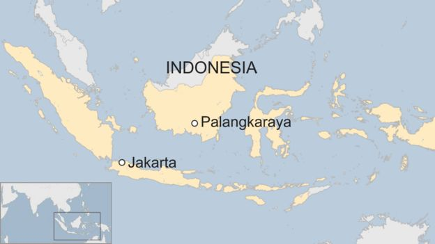 Map Of Asia With Capital Cities.Indonesia S Planning Minister Announces Capital City Move Bbc News