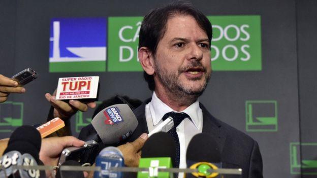 O político cearense Cid Gomes