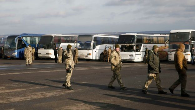 Image result for Ukraine crisis: Exchange of hundreds of prisoners takes place