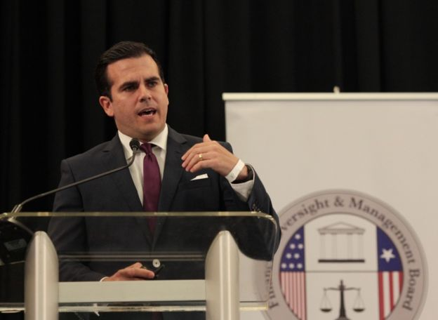 Rosselló es el gobernador de Puerto Rico desde enero de este año.
