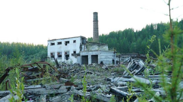 A derelict mine