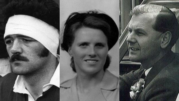 Mervyn 'Merv the Swerve' Davies, Eileen Beasley ac Emlyn Hooson