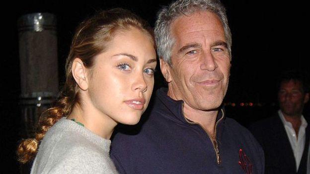 Epstein en una fiesta