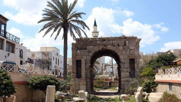 Libya country profile bbc news ancient roman arch in modern tripoli publicscrutiny Gallery