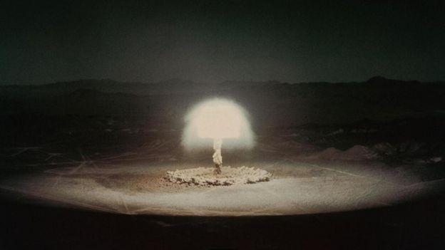 أحد اختبارات القنابل الذرية