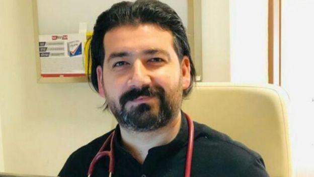 Şanlıurfa'da da Tabip Odası Başkanı Doktor Osman Yüksekyayla
