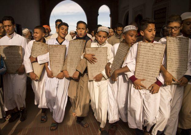أطفال في المغرب