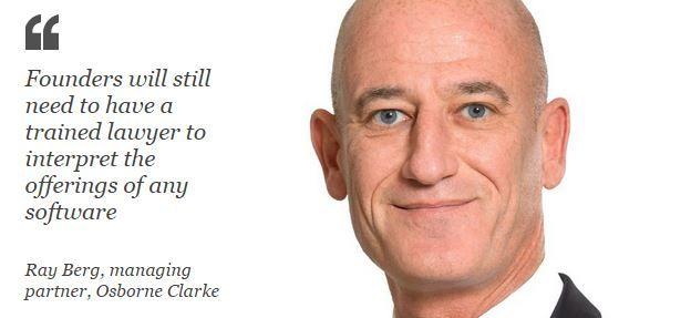 Ray Berg, managing partner, Osborne Clarke