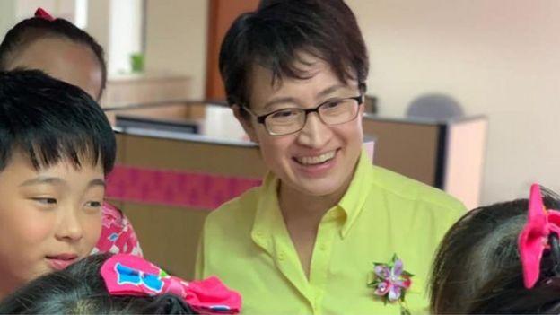台美混血的萧美琴是现任台湾驻美代表。