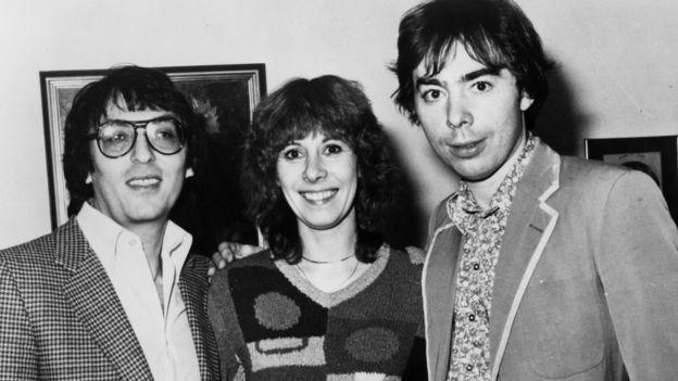 Don Black, Marti Webb, Andrew Lloyd Webber