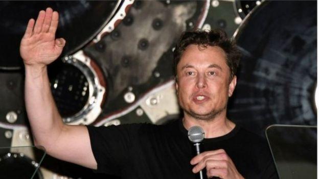 著名科技大亨、企业家马斯克。