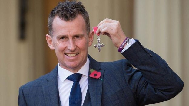 Nigel awarded MBE