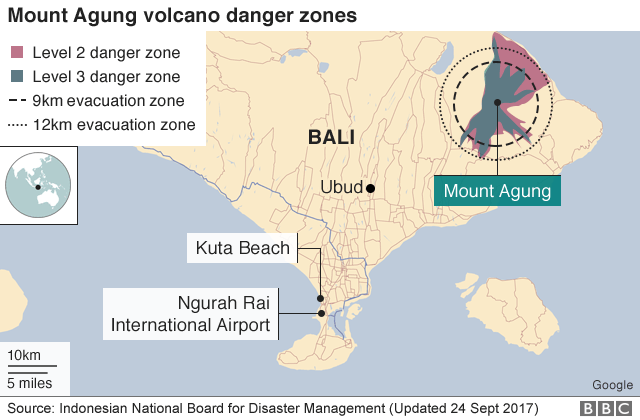 Image result for hazard zone mount agung