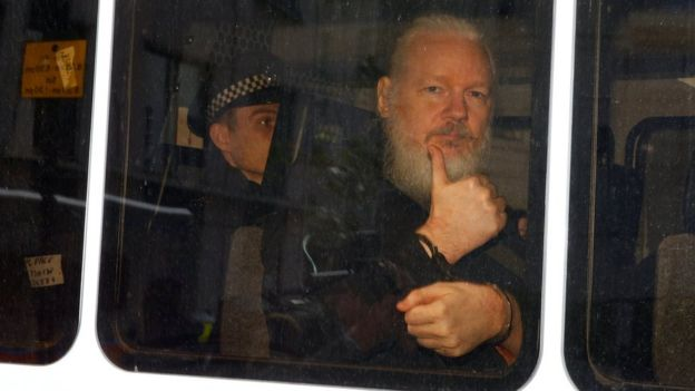 Julian Assange: Wikileaks co-founder arrested in London