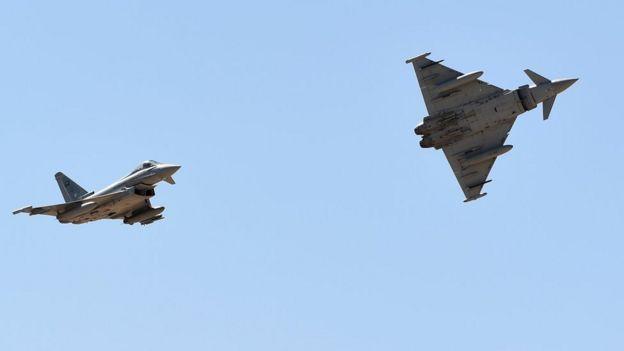 جنگندههای عربستان سعودی