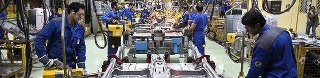 تولید خودرو ایران