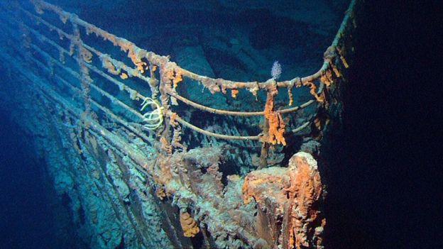 حطام سفينة تايتانك