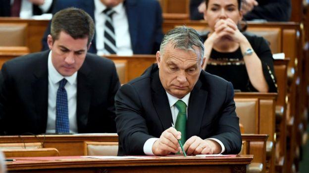 Viktor Orbán, premiê da Hungria