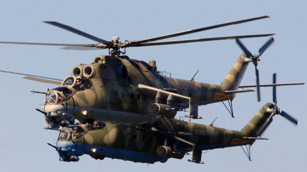 米24武装直升机