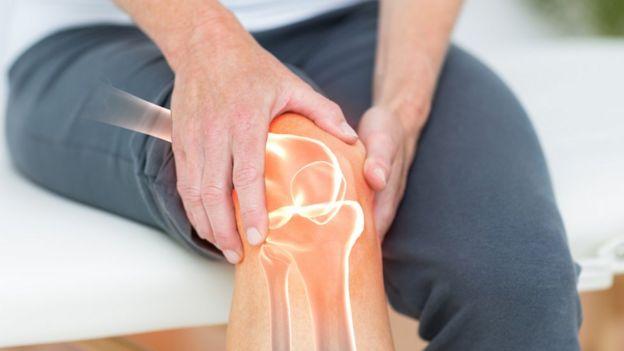 articulações do joelho