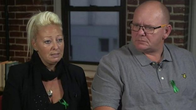 Harry Dunn's parents