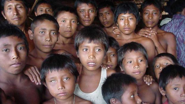 99548795 waraonios - A tribo indígena que está sendo dizimada por uma epidemia de HIV