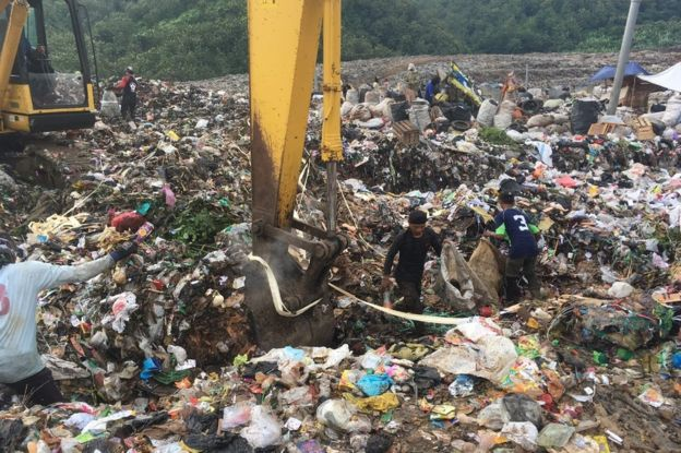 Les ramasseurs de déchets travaillent souvent dans des conditions peu sûres
