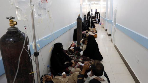 Image result for cholera in yemen