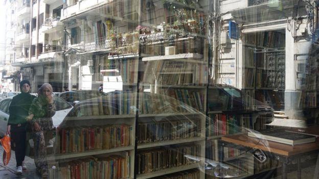 La librairie ''Les Vraies Richesses'' à Alger, qui a publié les ''Noces'' d'Albert Camus, ainsi que d'autres romans, dans les années 1930.