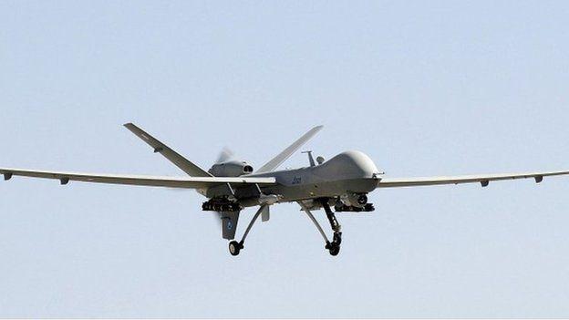 RAF Reaper drone